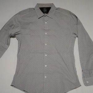 Diesel Slim Fit Circle Print Shirt, Medium